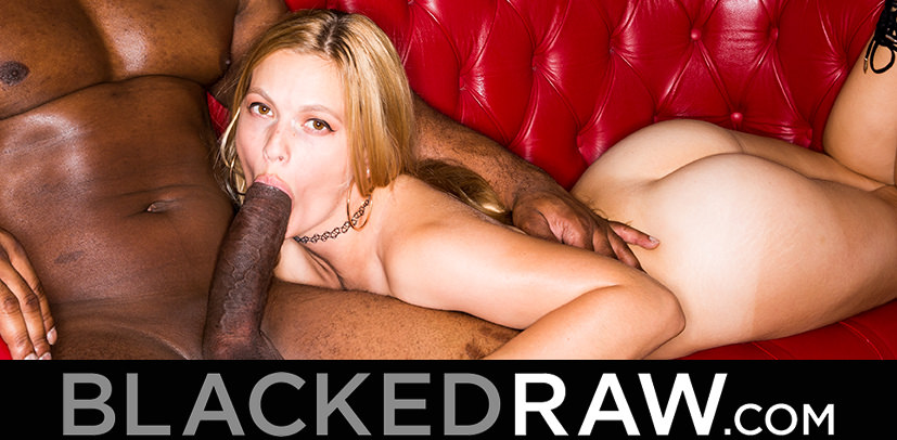 BLACKEDRAW.com - Big Booty Blonde Wife and BBC - Sloan Harper